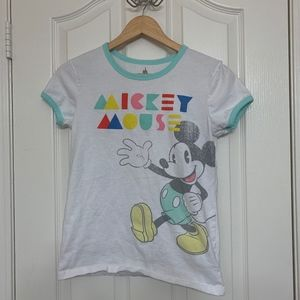 Disneyland Mickey Mouse Short Sleeve
